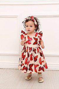 Vestido Taci Borboletas Baby