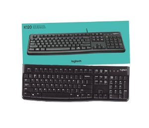 TECLADO USB PRETO LOGITECH K120
