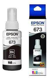 REFIL TINTA EPSON L800 PRETA T673120