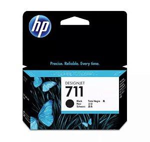 CARTUCHO HP 711 PLOTTER CZ129A PRETO (38ML)