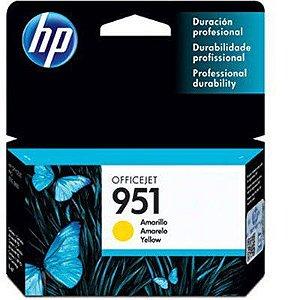 CARTUCHO HP 951 CN052AB AMARELO