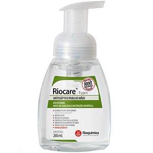 Alcool Riocare Foam 260ml (espuma) - Rioquímica