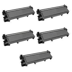 05 Toners Compatível L2300d Ll2380dw Tn-2340 2370 Tn660