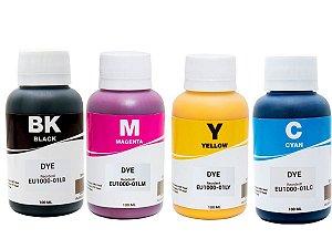 Kit 4 x 100 ML Tintas Inktec para  Epson 664  L220 L375 L365 L355 L110 L395