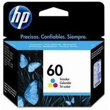 Cartucho HP 60 colorido original