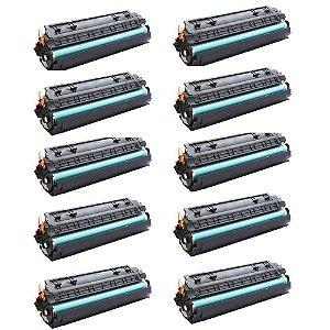 Kit 10 Cartuchos Toner Compatível HP CE285A l 435A l 436A   Novo