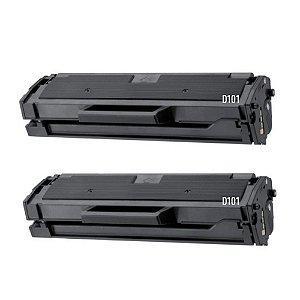 Kit 2 Toners Compatíveis para Samsung ML2165 l MLTD101S Novos