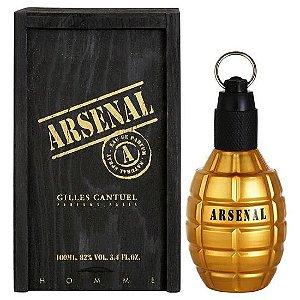 PERFUME ARSENAL GILLES CANTEUEL GOLD MASCULINO 100ML