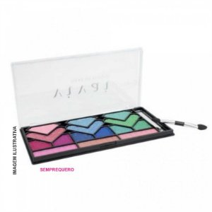 Estojo de Sombras 3D e Blush Fashion Light Vivai