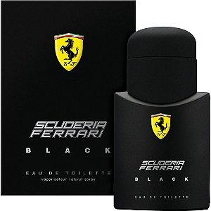 PERFUME MASCULINO SCUDERIA FERRARI BLACK 40ML