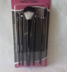 kit pincel para maquiagem - KP3-1 MACRILAN