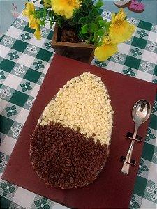 Ovo de Páscoa de Colher Chocolate Belga e Brigadeiro