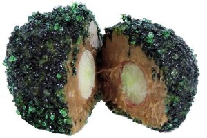 Brigadeiro Gourmet Recheado de Uva - Zero Lactose - Vegano - Light - Caixa Com 36 Unidades