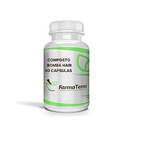 COMPOSTO BOMBA HAIR - 60 capsulas