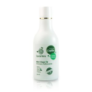 Shampoo Refrescante Mint Clean (cabelos oleosos)