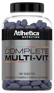 Complete Multi Vit 100 tabletes Atlhetica Nutrition | Brazil Nutrition