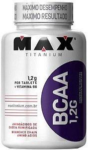 BCAA 1,2G com Vitamina B6 Max Titanium