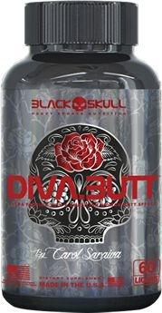 Diva Butt by Carol Saraiva Black Skull