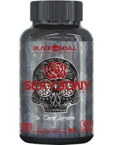 Sexy Bony by Carol Saraiva Black Skull