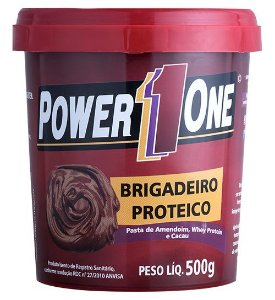 Pasta de Amendoim Brigadeiro Power One 500g