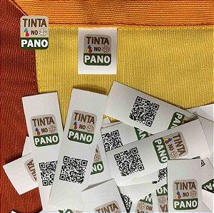 1500 Etiquetas Personalizadas em Nylon Resinado