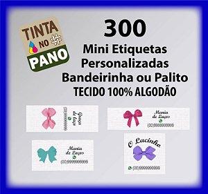 300 Mini Bandeirinha/Palito para Laços ou Pequenos Artesanatos