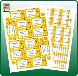 100 Vinil Materiais + 14 Adesivos Cadernos