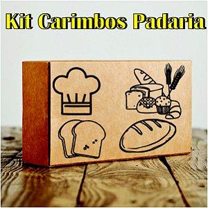 Kit Carimbos de Padaria