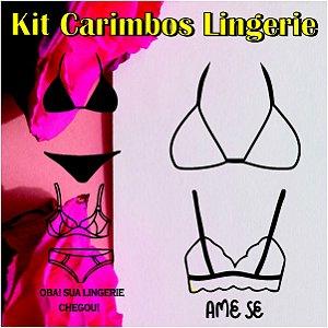 Kit Carimbos de Lingerie
