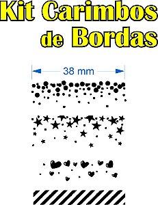 Kit Carimbos de Bordas
