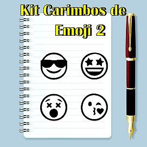 Kit Carimbos de Emojis 2