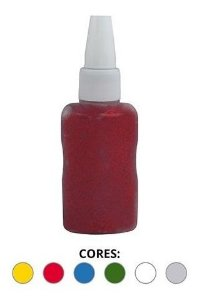 Cola C/glitter 6 Cores 25gs Kit Slime