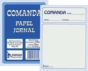 COMANDA  DE PAPEL JORNAL  C/20 BLOCOS