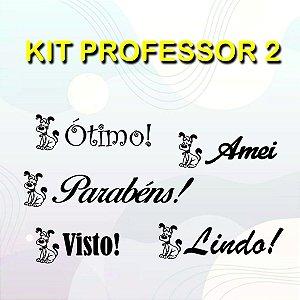 Kit Carimbos para professor 2