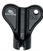 FERRAMENTA PARA ALINHAMENTO DE RAIOS (3.2mm) BIKE HAND - PRETO - YC-1R-1