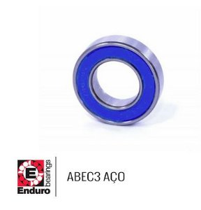 ROLAMENTO ENDURO ABEC3 6203 2RS AÇO (17x40x12)