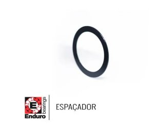 ESPAÇADOR ENDURO - WA 30x40x1.0 - ALUM. - KIT 2 UNIDADES