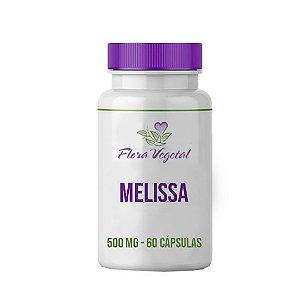 Melissa 500 mg - 60 cápsulas