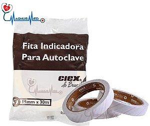 Fita Indicadora para Autoclave 19MM X 30M - CIEX