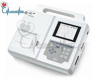 Eletrocardiógrafo 3 Canais 12 Derivações CM300 - Comen