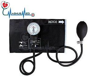 Esfigmo Aparelho de Pressão Adulto Nylon Velcro sem Estetoscópio - Premium