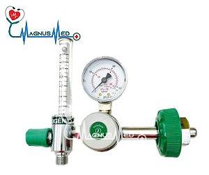 Válvula Reguladora para Cilindro de oxigênio com Fluxometro VRD100 - IFAB