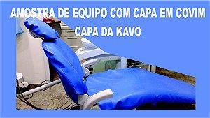 Capa Para Cadeira Odontológica Em Corvim Colorido