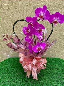 Orquídea Especial Coração