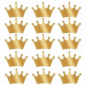 Coroa Para Lembrancinha Em Adesivo Poliester