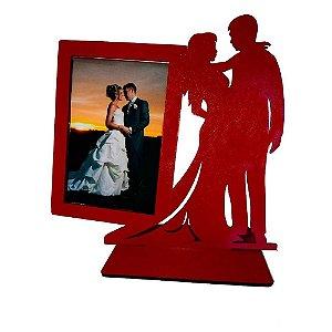Lembrancinha De Casamento Topo De Bolo Porta Retrato Casal