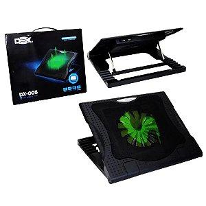 Base para notebook com cooler 6 níveis USB DX-005 DEX