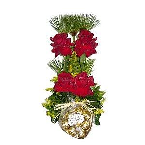 Parede de rosas colombianas