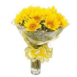 Bouquet de girassois