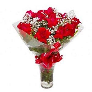 Bouquet de 2 Dúzia Rosas Colombianas
